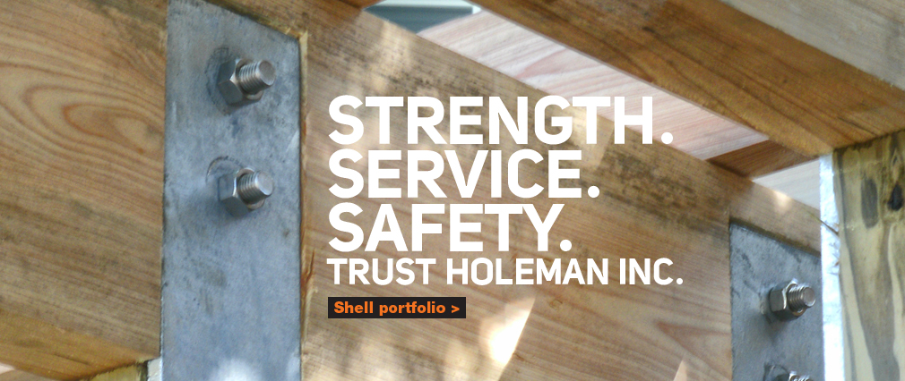 Strength. Service. Safety. Trust Holeman Inc.